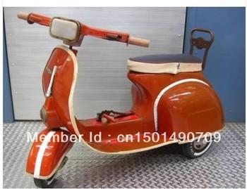 Vintage RETRO VESPA Pedal Car Bicycle Biped Bike Motor Bike