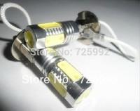 H3 High Power 11W Lens LED Constant Currency DC 10-24v Cree White HeadLight LED Bulb Fog Lamp Free Shipping 2pcs/lot