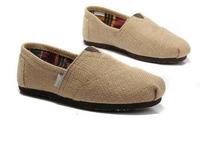 Fashion Natural LinenCasual Canvas Shoes Unisex   Classic Canvas  Espadrilles Flats Shoes Plain  Sneakers Eur35-45 Free Shipping