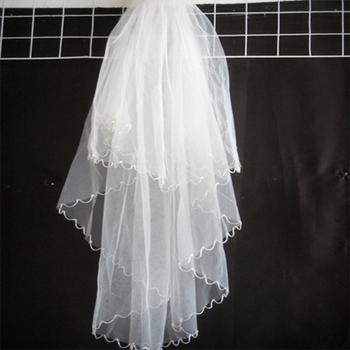 Bridal veil bride hair accessory accessories long design wedding accessories wedding supplies bridal veil