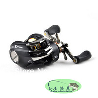"Free shipping Sea Saltwater Big Game Lure Fishing reels Bait Casting Reel Drum Reel ""6.3:1/10+1BB"" Fishing Tackle"