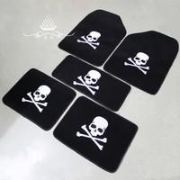 Mastermind auto supplies skull general plush mat carpet car mats