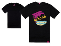 new style shipping mens t shirts 2013 pink dolphin the hundreds high quality hip hop fashion men 100%cotton t_shirt