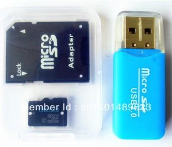 32GB 16GB TF Card 32GB 16GB Micro SD HC Class 10 TF Flash Memory Card + Free Adapter + Gift TF card to USB Reader + Free shiping