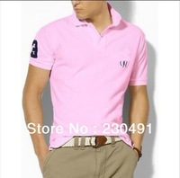 2013 NEW Men's P0L0 T-shirt Sport shirt many brand free shipping by china post air mail.