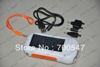 SVC153 Solar Radio With LED Flashlight and Charger Function Solar Radio Power Charger For Cell Phone Camera PDA MP3 MP4