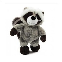 Free shipping-45cm Cool NICI Gray&Black Sitting Racoon Stuffed Plush,Stuffed toys gift hot selling new product