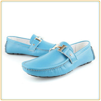 Free Shipping 2013 Cheap Casual Leather Driving Mens Shoes Slip On Loafers Flats Hot Sale For This Season High Quality