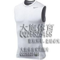2014 Better fabric Pro fitness clothing basketball tight elastic sports vest sleeveless T-shirt vesseled sweat breathable Men