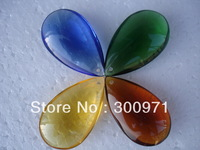 Free shipping 4 colors 185pcs/lot 50mm crystal tear drop pendant for chandelier / curtain parts,crystal chandelier parts