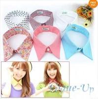 New Women's Ladies Vintage Detachable Cotton Collar Necklace Choker 6 Styles