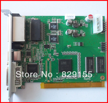 Linsn synchronous data sending card,  full color led display control card, led controller
