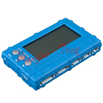 3 in 1 2~6s RC Li-Fe Lipo Li-Po battery Voltage Balancer Discharger Meter LCD Display for RC Hobby Model 450 550 600 Helicopter