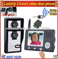 Wholesales 3.5'' 2.4GHz Digital wireless door phone
