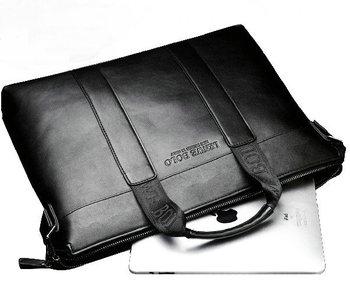 REAL LEATHER  commercial handbag messenger bag man bag shoulder bag briefcase bag