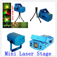 Starry Sky Red & Green Mini Laser Stage Lighting Projector indorr music party