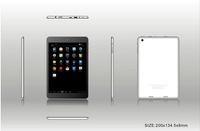 7 inch MTK8389 quad core 3g tablet pc android4.2