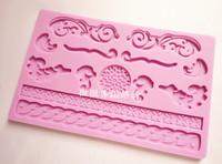 Baking tools sugar cake three-dimensional print silicone pad dry pad polymer clay mould