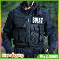 U.S. POLICE Vest Tactical Vest SWAT vest CS equipment vest send SWAT Velcro Free shipping