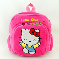 J6 free shipping wholesale 5pcs/lot HELLO KITTY plush backpack cute KITTY school bag for baby