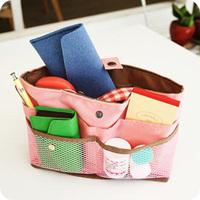 free shipping Derlook . multifunctional cosmetic bag storage bag in bag Large