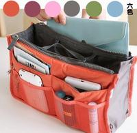 free shipping Travel bag storage bag double zipper cosmetic package bag finishing bag multifunctional bag