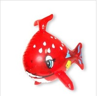 free shipping 2013 new arrived 20pcs/lot fashion Inflatable aircraft fish toy,children toys