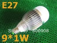 E27 led bulb indoor  light 9w lampen