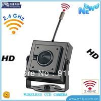 Small 1/3 SONY CCD Min 100m Transmission Distance 2.4GHz mini camera wireless