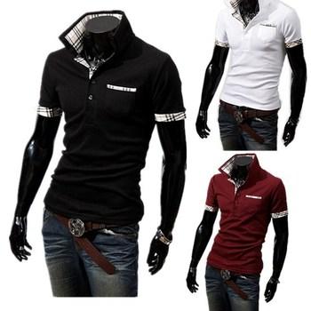 POLO 2013 New Casual Men's Slim Fit Stylish Short Sleeve Shirts,M,L,XL,XXL,3008