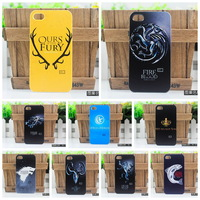 Hot 1 pcs/lot plastic Ice And Fire Game of Thrones Badge Matte hard case cover For THL W8 free shipping 30 Designs