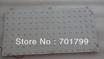 P20mm WS2812 LED digital flexible panel light;8*16pixels: size:16cm*32cm;DC5V input