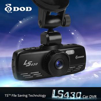 2013 Newest 100% Original DOD LS430 car dvr recorder camera Full HD 1080P 30FPS GPS G-Sensor GPS Over Speed Warning H.264