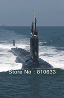 Free shipping hot  united state SSN-774 submarine model America submarines models for sale online