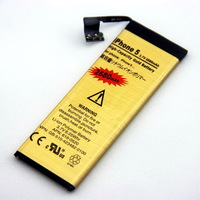 2013 Hot Sale ! 2680mAh high Capacity Golden Battery For iPhone 5 5G 30pcs HK post Free Shipping