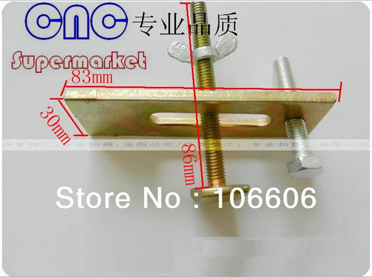 cnc platen, Fixture Plate / Engraving Machine Fastening Platen / CNC Router Fixture,cnc jig, clamps, 5 pcs/lot(China (Mainland))