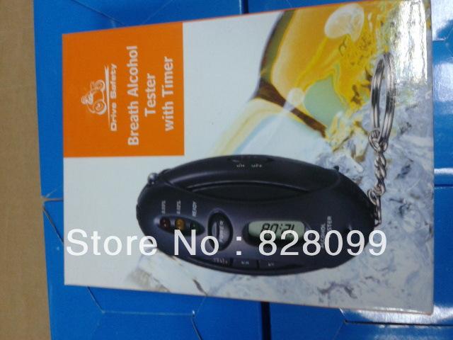 1PCS Alcohol tester detector alcohol lamp Hin alcohol tester Keychain alcohol detector(China (Mainland))