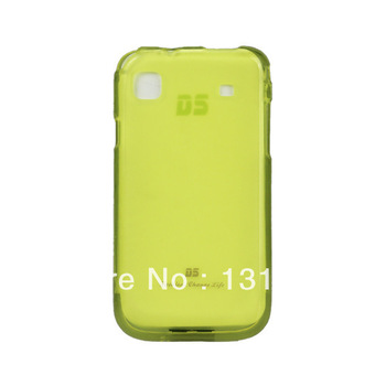 100% Original TPU Case For samsung I9003 New Arrivel mobile phone Dirt-resistant case,10 pcs free shipping