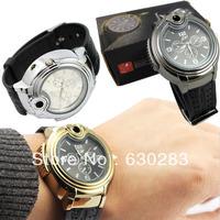 New Novelty Wrist Watch Cigarette Butane Flame Lighter Fashion New Quartz Wrist Lighter watches men Best Gift For Men! ~~~