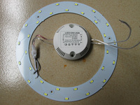 5W 12W 15W LED PANEL Circle Light 180-265V AC SMD 5730,LED Round Ceiling board  the circular lamp board for Dining room