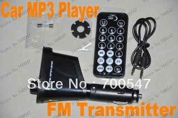 SVC158 New Remote Control USB Car MP3 Player Wireless Modulator FM Transmitter With USB SD MMC Slot