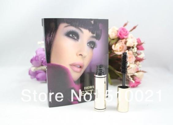 3pcs Brand Waterproof&Thick false lashes mascara Black Make Up Mascara 4ML/pc(China (Mainland))