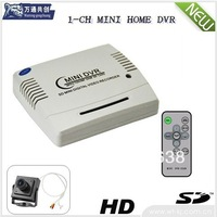 1-CH home Recorder Mini DVR with D1 Resolution 30fps