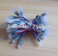 Waterproof DC5V 12mm IC WS2801 RGB LED string light LED full color pixel Module Highlight LED Module 400pcs free shipping