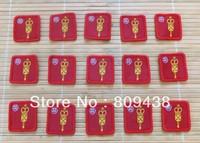 CUSTOM SIZE,NO MOQ.accept (50~1000pcs) woven badge.custom patches/logo,custom woven patch,cheap