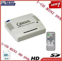 Mini Portable 1ch DVR ,hot 1 ch d1 resolution dvr