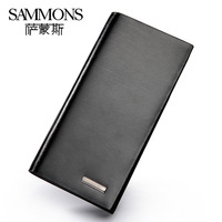 2013 High-grade fashion genuine leather brand wallet High quality cowhide clutch card bag men 350052