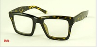 Korean version of the plain mirror decorative square black-rimmed glasses frame plain glasses wholesale glasses