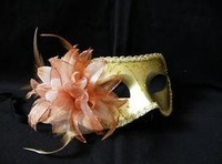 Hot sale Sexy Hallowmas Venetian mask,masquerade masks with flower mask Dance party mask 10pc/lot MJ009