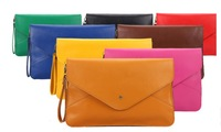 YWJR2021FREE SHIPPING 2013 big envelope bag vintage day clutch messenger bag file bag LADIES new arrival bags WOMEN 11colors